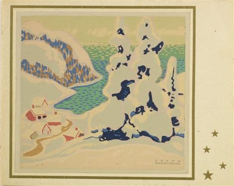 mcmichael gallery showcases christmas cards from group of 52 best the printmaker s art images on pinterest lino