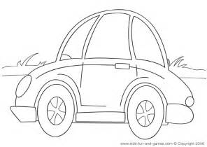 cute cars colouring pages
