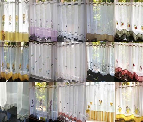 voile cafe net curtains voile cafe net curtain panels 19 great designs 18 quot 24