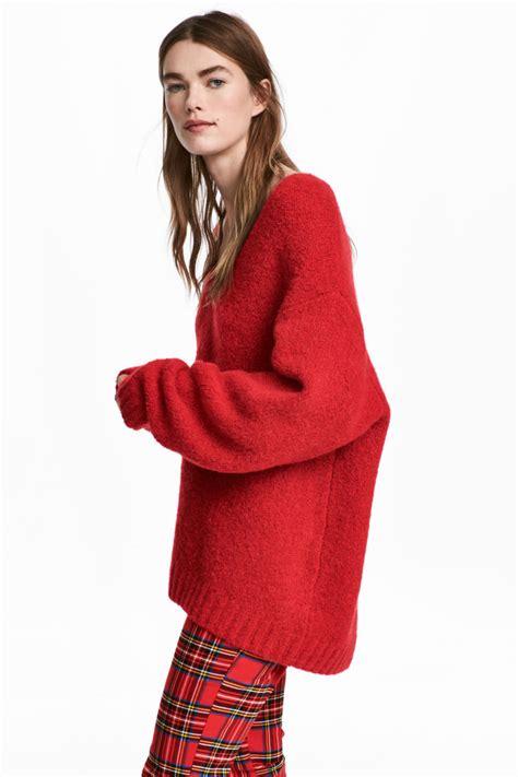 Sweater Di H M knit wool blend sweater sale h m us