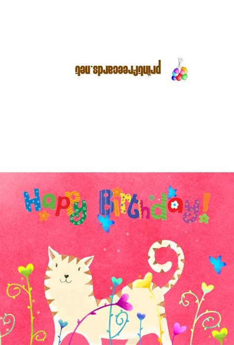 printable birthday cards personalized free custom card template 187 happy birthday pop up card free