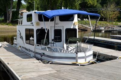 able house boats pin images of trailerable combo cruiser houseboats 22 quot