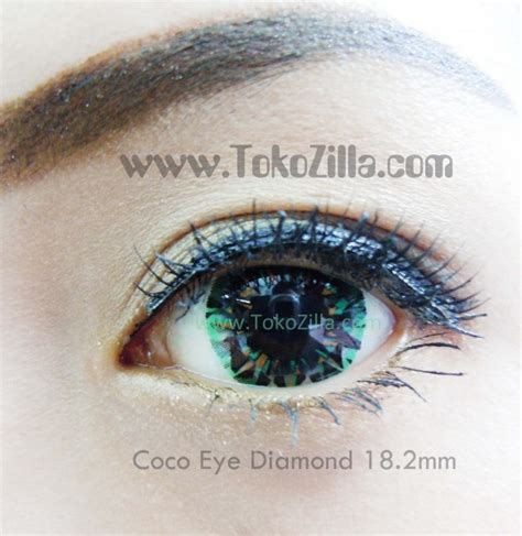 Coco Eye Softlens 3 Tone Violet softlens coco eye 18 2mm