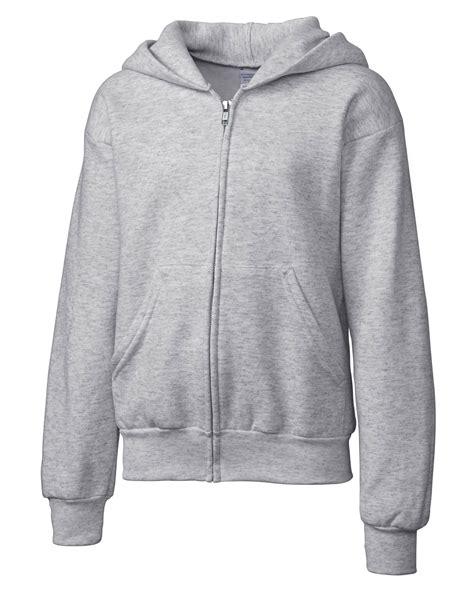 design youth hoodie design basic youth fleece full zip hoodie