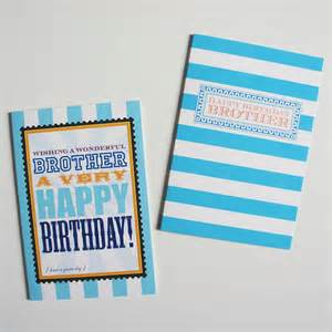 brother birthday card by dimitria jordan