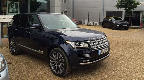 blue range rover vogue range rover vogue se tdv6 2014 long term test review by