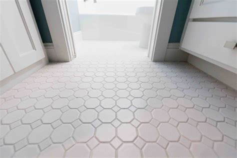 Bathroom Floor Tile by 30 Pictures Of Octagon Bathroom Tile