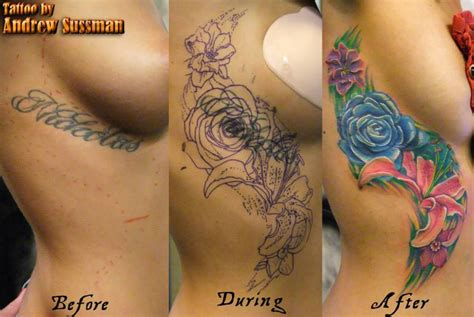 tattoo cover up ideas for ribs cover up tattoos imagine artistry