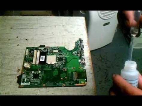 Hair Dryer Reflow Xbox 360 by Cs Flux Application For Gpu Removal Or Ref