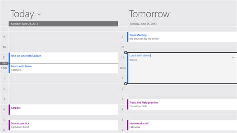 What Calendar Is On Windows 8 Sneak Peek At All New Windows 8 1 Mail Calendar And