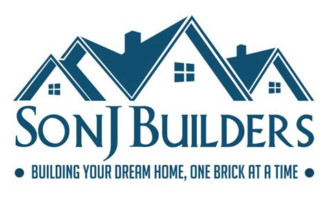 home design and builder logo design for builder black design