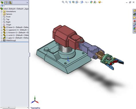 House Plan Design Software by Export A Solidworks Robot Assembly Model Matlab Amp Simulink