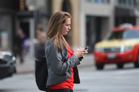 The Dangers Of Distracted Walking by S F Students To Raise Awareness Of Dangers Of