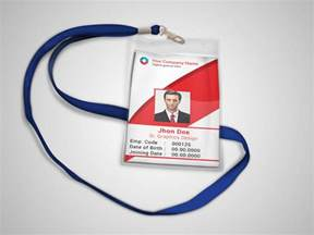 corporate id card template corporate official id card template on behance