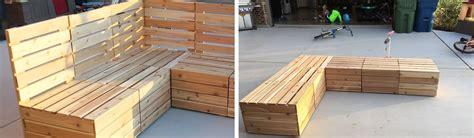 outdoor seating comfy versatile diy modular outdoor seating