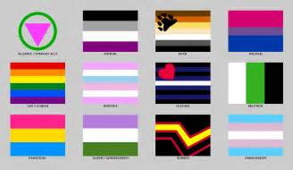 sexuality colors a compilation of flags by tarinsai80 on deviantart