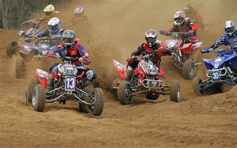motocross atv atv motocross pro points battle heats up with natalie jr