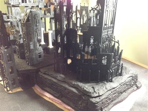 Aqilla Laser Cut aquila buildings cathedral table imperial shrine