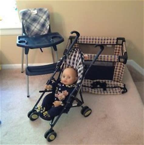 Graco Doll High Chair Set by Graco Baby Doll Stroller On Popscreen
