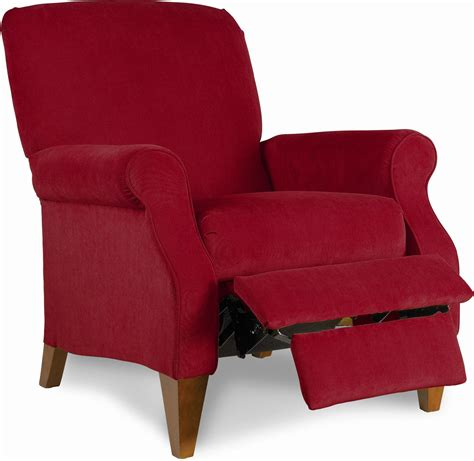 Sears La Z Boy Recliner by La Z Boy High Leg Recliner Berry