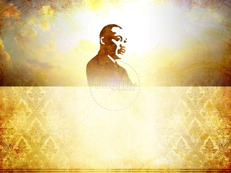 Martin Luther King Powerpoint Template Powerpoint Sermons Powerpoint Martin Luther King