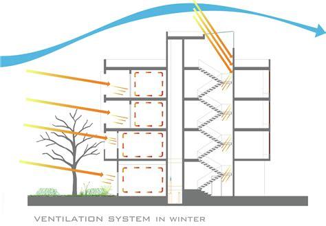 vent diagram gallery of 144 house apartment ali sodagaran nazanin