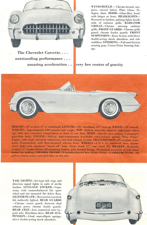 free car manuals to download 1953 chevrolet corvette free book repair manuals directory index chevrolet corvette 1953 chevrolet corvette 1953 corvette foldout