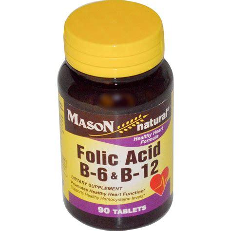 Vitamin Folic Acid Vitamins Folic Acid B 6 B 12 90 Tablets