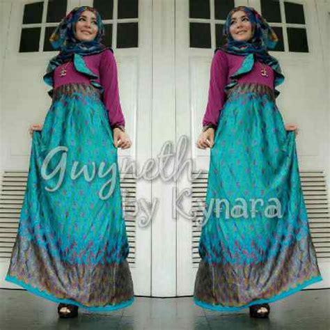 Dress Muslim Gamis Motif Rauna Rk 02 Fanta Dress Murah Ori gwyneth 2 by kynara tosca baju muslim gamis modern