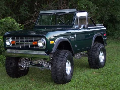 bronco car lifted lifted 72 ford bronco cars and trucks pinterest
