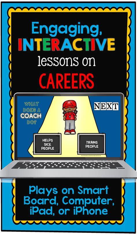 Digital Lesson On Careers For Grades K 6 Life Skills