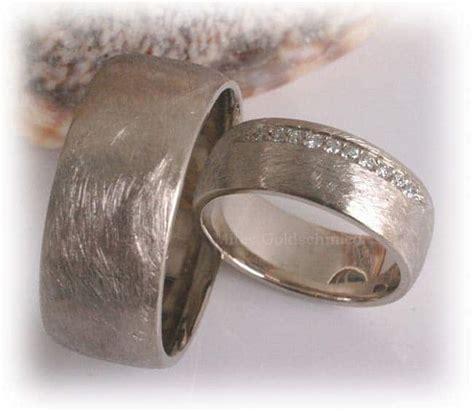 Eheringe Platin Matt by Trauringe Eheringe Im338 10 Diamanten 0 15ct Wei 223 Gold