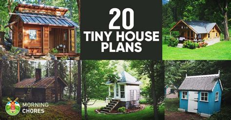 Diy House Plans 20 free diy tiny house plans to help you live the tiny