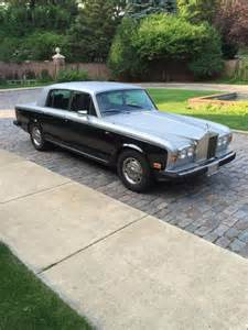 Rolls Royce Silver Shadow 2 For Sale 1980 Rolls Royce Silver Shadow Ii Automotive