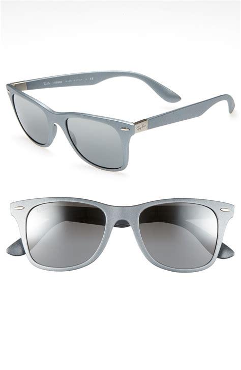 Kacamata Rayban Aviator Silver Mirror Mali4815 ban 52mm sunglasses in silver silver mirror lyst