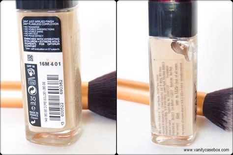 Loreal Infallible 24hour l oreal infallible 24hour foundation review swatches india