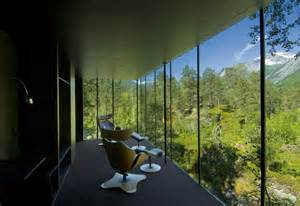 juvet landscape hotel ex machina juvet landscape hotel looking up gaia s skirt or it s