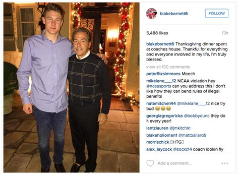nick saban house alabama players spent thanksgiving at nick saban s house