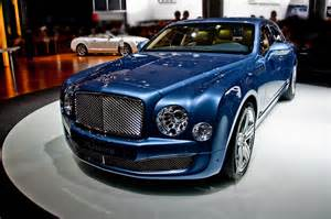 Luxury Cars Bentley And Concept Cars Bentley Mulsanne