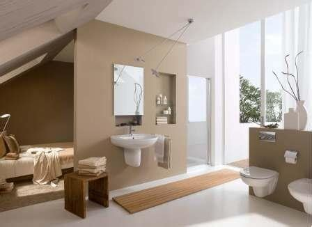 spa themen badezimmer badsanierung mit trockenbau wandnischen wandtrennung
