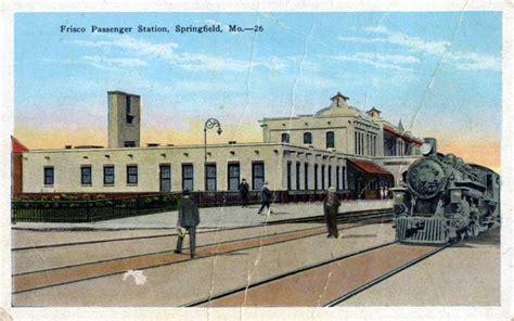 frisco postcards springfield missouri depots