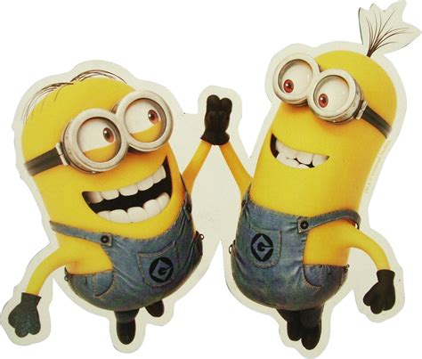 high five despicable me high five minions magnet