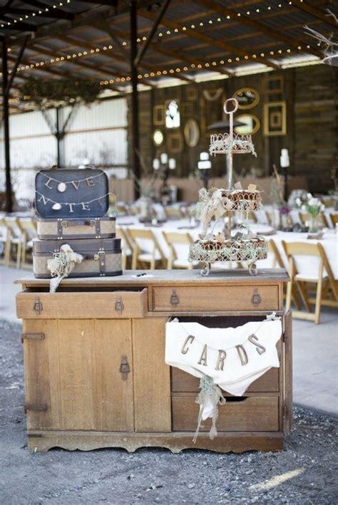 rustic vintage decor shabby chic wedding