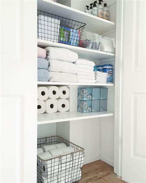 Bathroom Closet Organizers by Best 25 Bathroom Closet Ideas On Simple