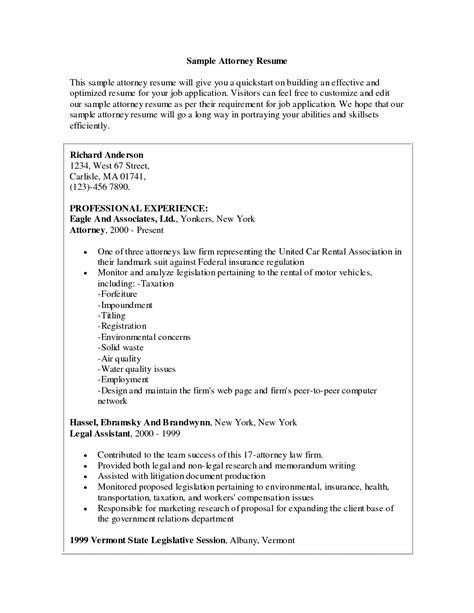 Legal Resume Sample by Attorney Resume Samples Template Resume Builder