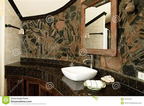 bathroom in thai thai style bathroom stock photography image 12415142