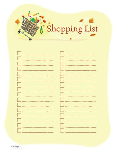 list poem template shopping list of chapel of grace bradford rccg