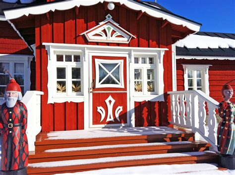 visiting santa house in finland seattle travels
