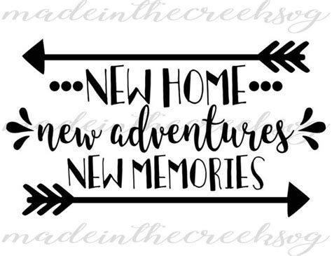 home  adventures  memories quotes home svg