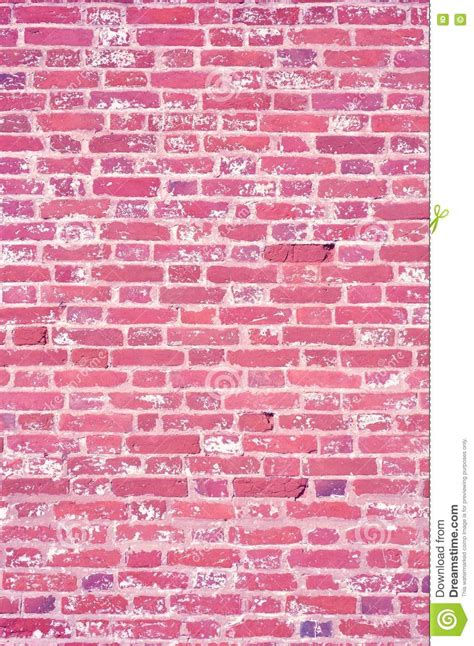 pink texture brick wall stock photo image  orange